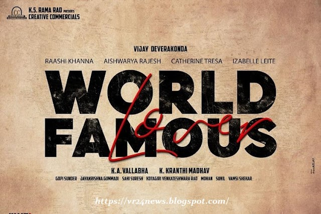 Worldfamous Lover Comosava Paris Video Song HD Download