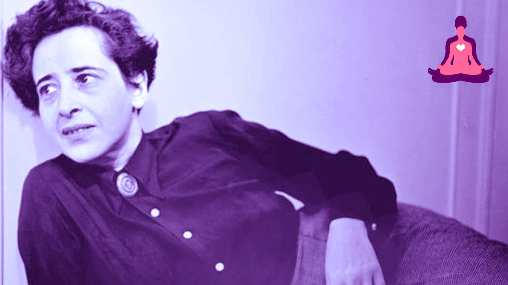 La filosofa Hannah Arendt