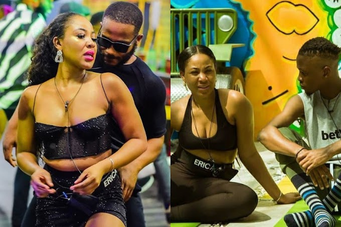 """#BBNaija: """"I'm mentally attracted to you, physically attracted to Kiddwaya – Erica tells Laycon (videos)"""