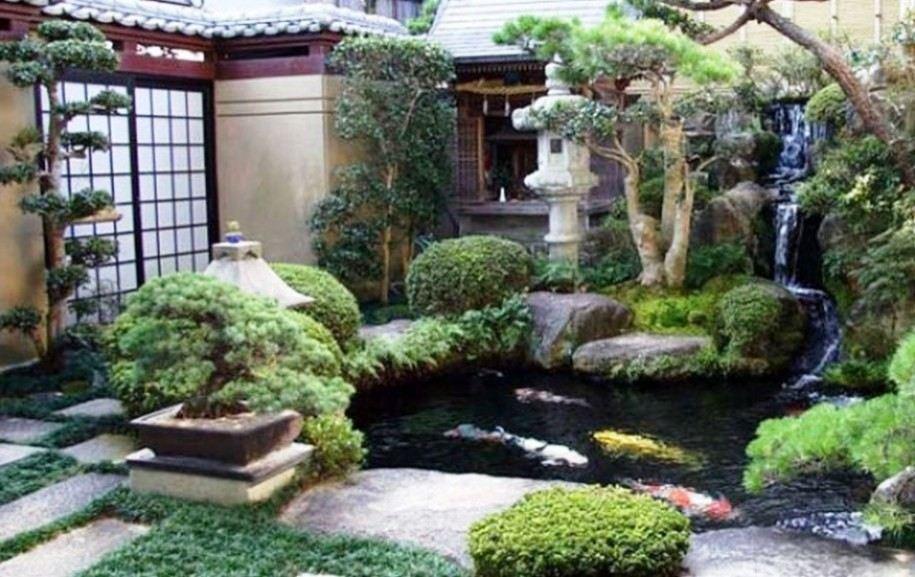 Contoh Desain Taman Kering Jepang