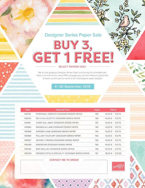 Buy 3 Get 1 FREE Paper Sale