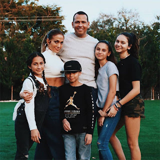 Jennifer Lopez and  Alex Rodriguez kids,