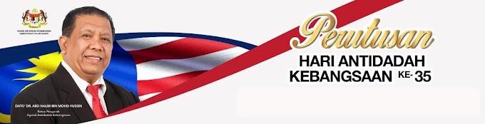 PERUTUSAN KETUA PENGARAH AADK SEMPENA HARI ANTIDADAH KEBANGSAAN TAHUN 2018