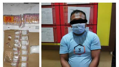 Ditresnarkoba Polda Kalteng Sita 162,3 Gram Shabu dan 30 Butir Ekstasi di Baamang Sampit