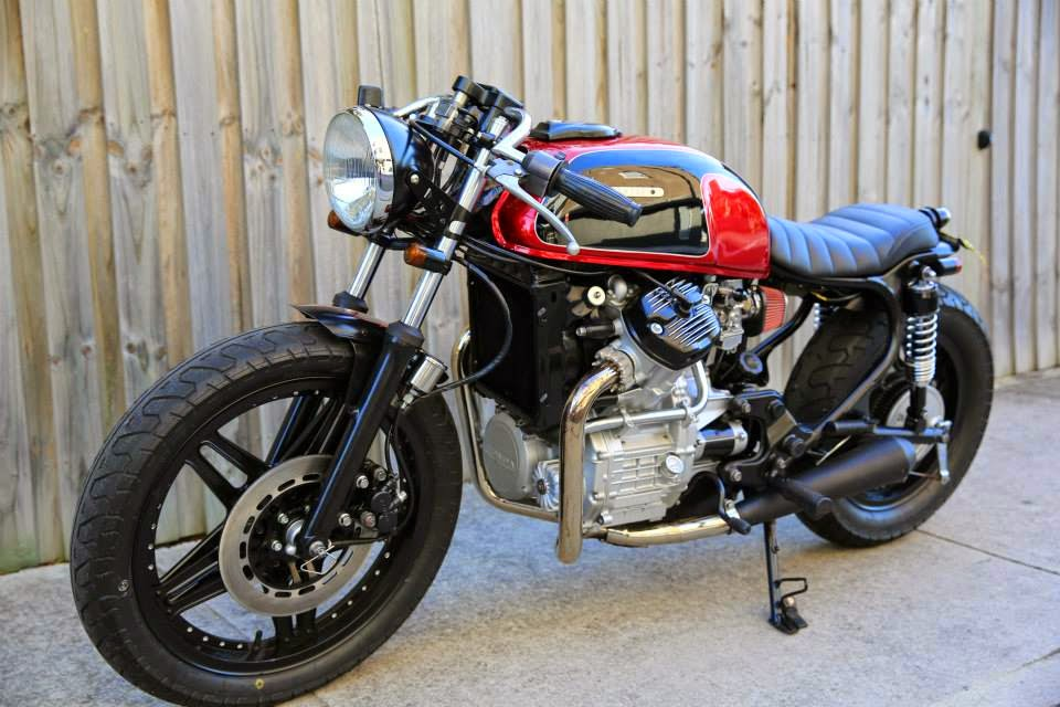 Double Barrel Garage Cx500 Spike Return Of The Cafe Racers