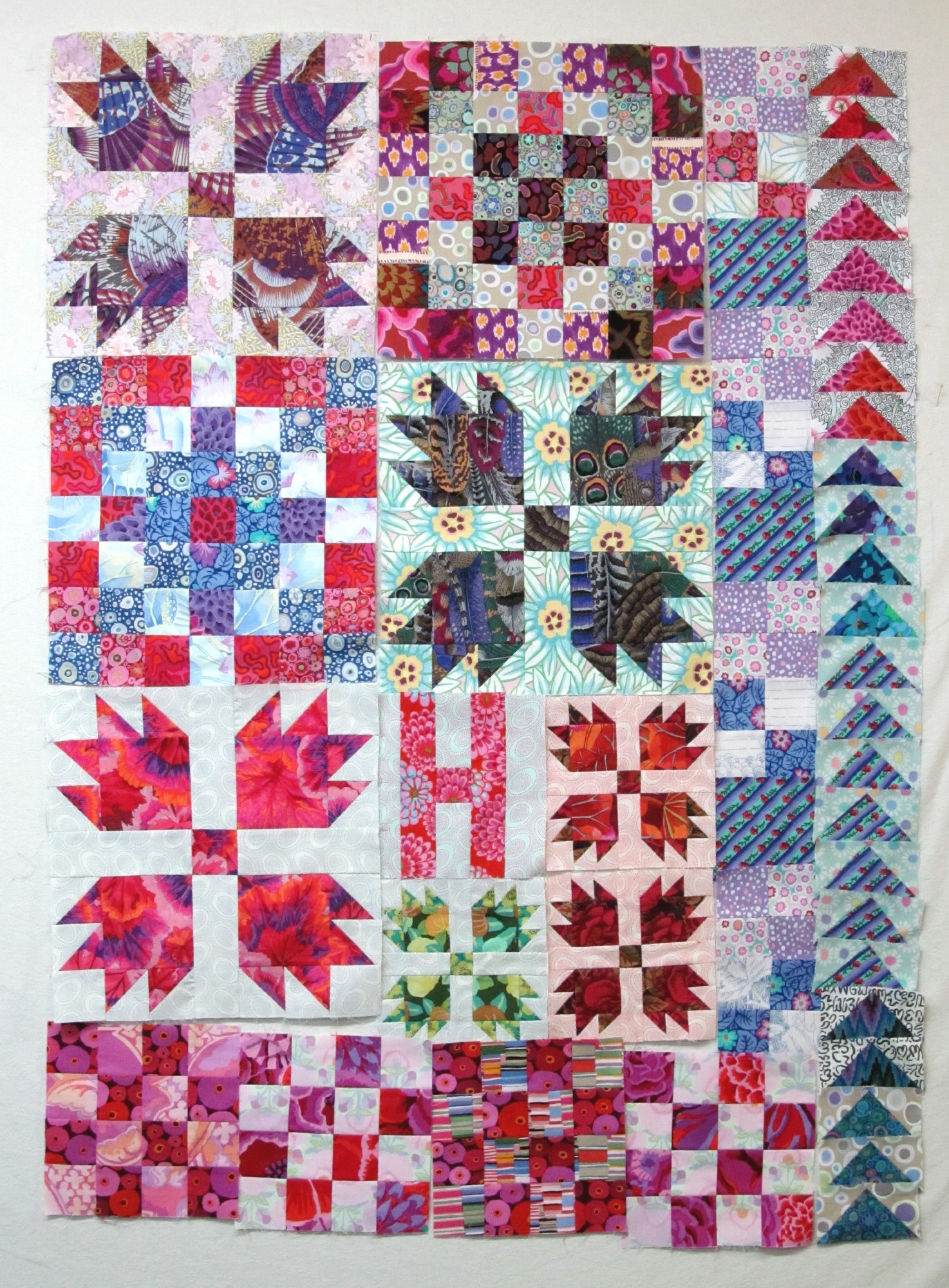 Colors Out of the Box quilt