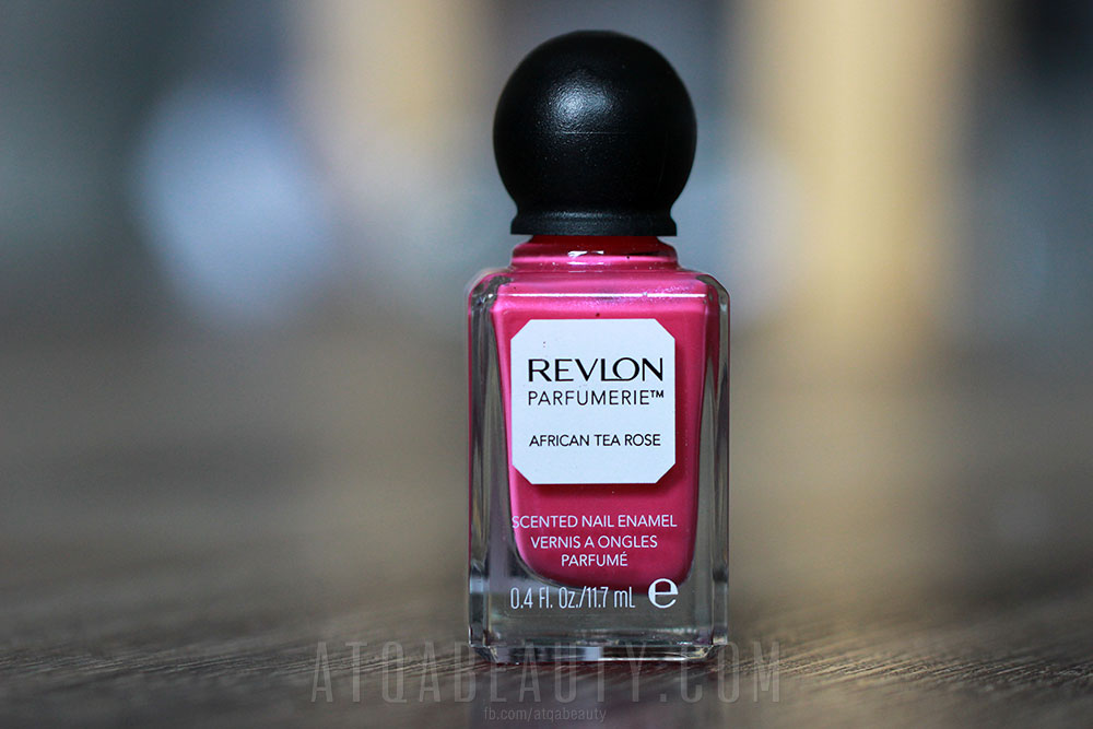 CZYTAJ DALEJ >> Revlon Perfumerie • African Tea Rose • Scented Nail Enamel