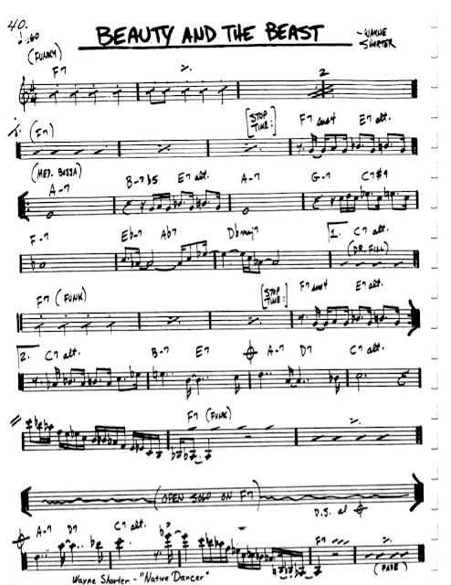 Partitura Flauta Wayne Shorter