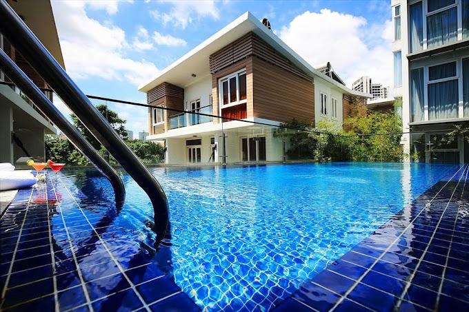 1 bedroom 1 bathroom 50m2 swimming pool, gym in Thao Dien - 13,800,000vnd/month