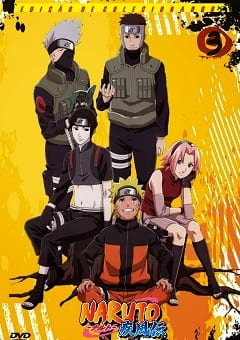 Naruto Shippuden - 3ª Temporada Completa Desenhos Torrent Download capa
