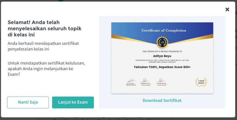 sertifikat skill academy