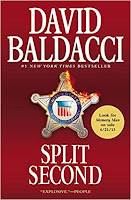 Split Second by David Baldacci book cover and review