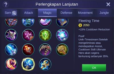 Fleeting Time Mobile Legends