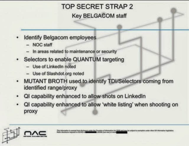 Quantum Insert  NSA And GCHQ intercepted LinkedIn and Slashdot traffic to plant malware
