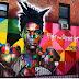 """STREET ART: """"Fight for Street Art"""" Jean Paul Basquiat by Eduardo Kobra in Brooklyn"""