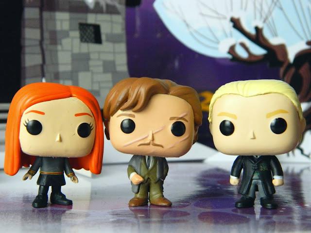 Funko Pocket Pop! Ginny Weasley, Remus Lupin, Draco Malfoy