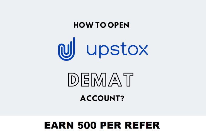 [2021] How to Open Demat Account on Upstox - Refer & Earn