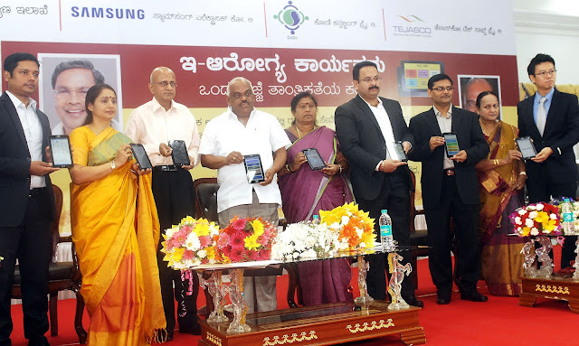 Samsung Signs MoU with Government of Karnataka, Provides 1,000 Galaxy Tab Iris Devices for Public Health Centers