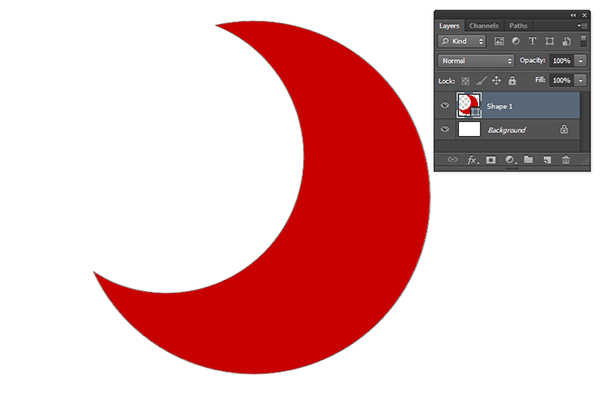 Picture Editing Crescent Moon Photoshop Collage Shapes