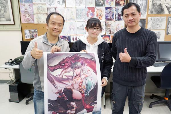 台日學生原創漫畫賽 大葉生隨手塗鴉奪獎評審驚呆了