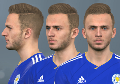 PES 2017 Faces James Maddison by WER Facemaker
