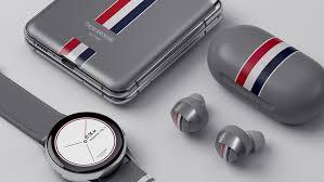 Gadgets & Widgets, Samsung Galaxy Z Flip Thom Browne Edition, Galaxy Z Flip Thom Browne Edition, Vanilla Z Flip Thom Browne Edition