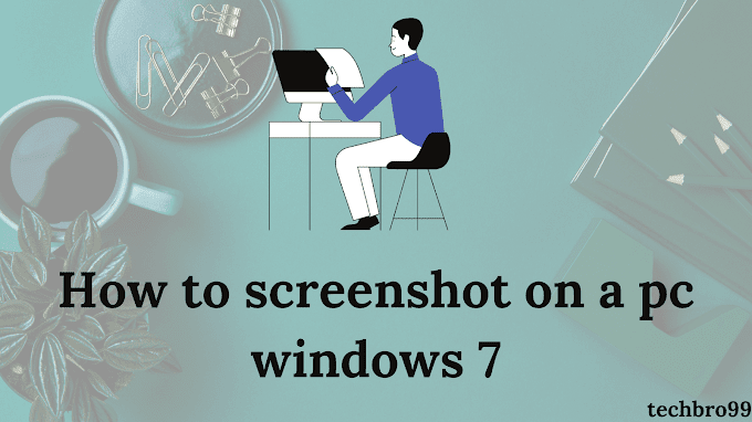 How to screenshot on a pc windows 7 [2021]
