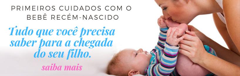 bebê recem nascido cuidados