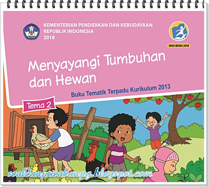 Kunci Jawaban Tematik Revisi 2021 - Kunci Jawaban Buku ...