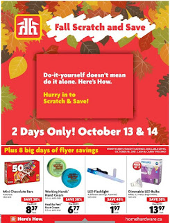 Home Hardware Ontario flyer October 11 - 18, 2017