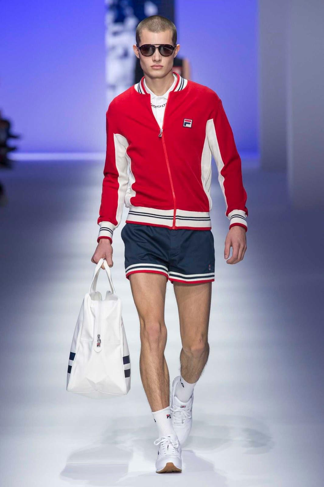 fila springsummer 2019 runway show male fashion trends