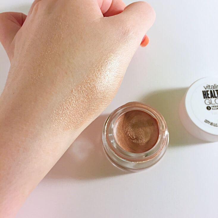 Covergirl Vitalist Healthy Glow Highlighter swatch