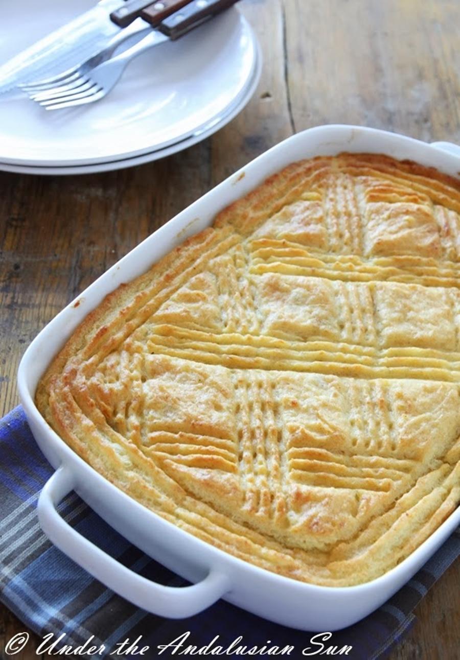 Andalusian auringossa_perunareseptejä ympäri maailman_shepherd's pie_gluteeniton