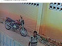 VÍDEO: Moto de subsecretario é furtada em Dona Inês