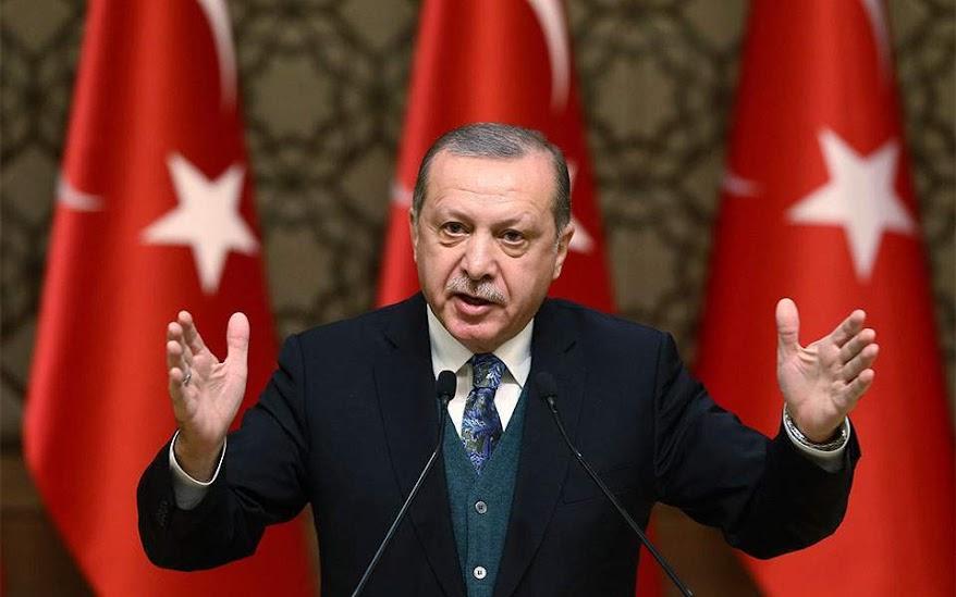 Ερντογάν: Πολεμούν τις έρευνές μας στη Μεσόγειο αλλά θα αποτύχουν