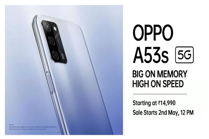 Oppo A53s 5G Price in India, Specifications, Reviews, Offers