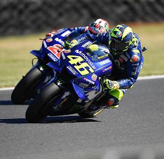 Galeri MotoGP Australia 2018 – Valentino Rossi & Maverick Vinales