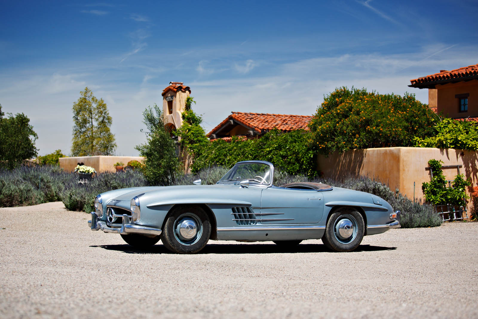 it doesn t get more authentic than these original unrestored mercedes 300 sls. Black Bedroom Furniture Sets. Home Design Ideas