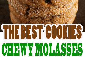 THE BEST CHEWY MOLASSES COOKIES