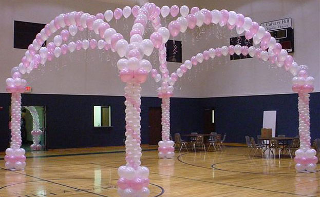 table balloon decorations party favors ideas. Black Bedroom Furniture Sets. Home Design Ideas