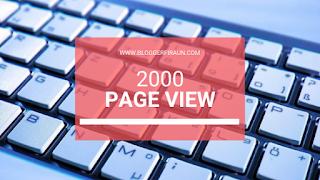 Ini Kata Blogger Senior : Visitor Blog Bule segini aja Udah Merdeka