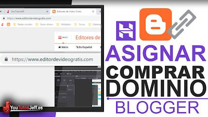 Poner Dominio Personalizado en Blogger - Comprar Dominio y Redireccionar Hostinger