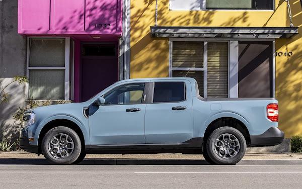 Ford Maverick chega ao Brasil em 2022 para enfrentar a Fiat Toro