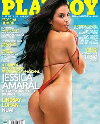 Revista Playboy Jéssica Amaral Fevereiro 2012