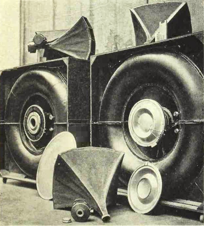 Theater Loudspeaker by Albert L Thuras and Edward C Wente