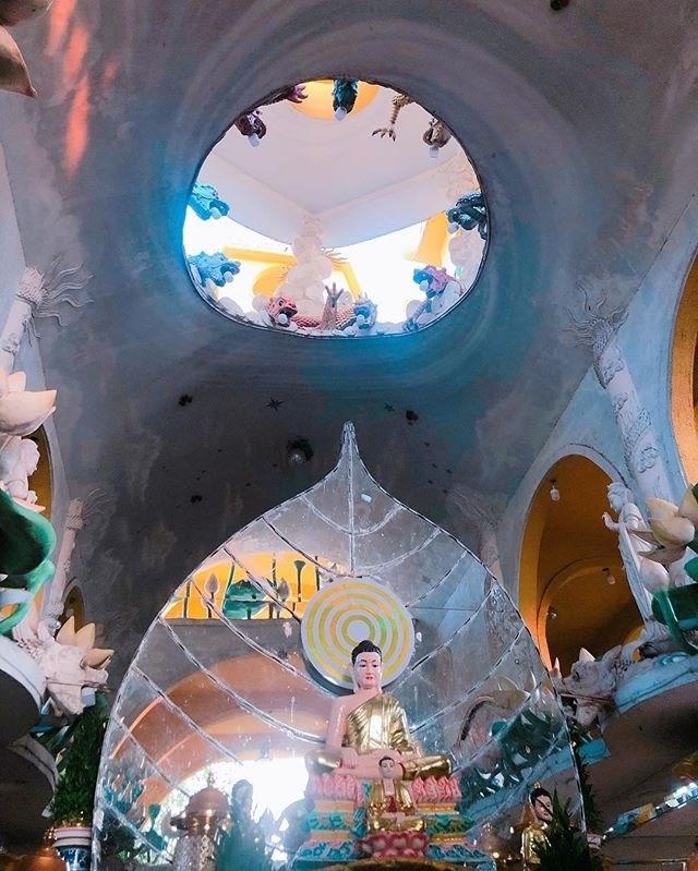 Chùa Kỳ Quang 2 - Độc đáo ngôi chùa 100 tuổi không cột, không nóc tại Gò Vấp