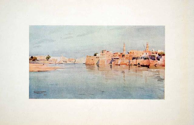 1906. Mit Ghamr, Ad Daqahlia, Egypt (Robert Talbot Kelly)