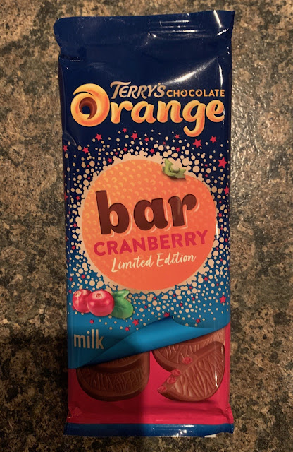 Terry's Chocolate Orange and Cranberry Bar