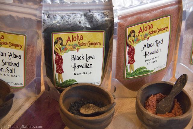 Spices at the Aloha Spice Company