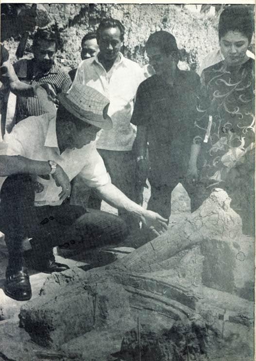 Former President Ferdinand Marcos and former first lady Imelda Marcos